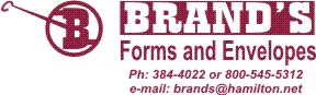 Brand's Forms and Envelopes
